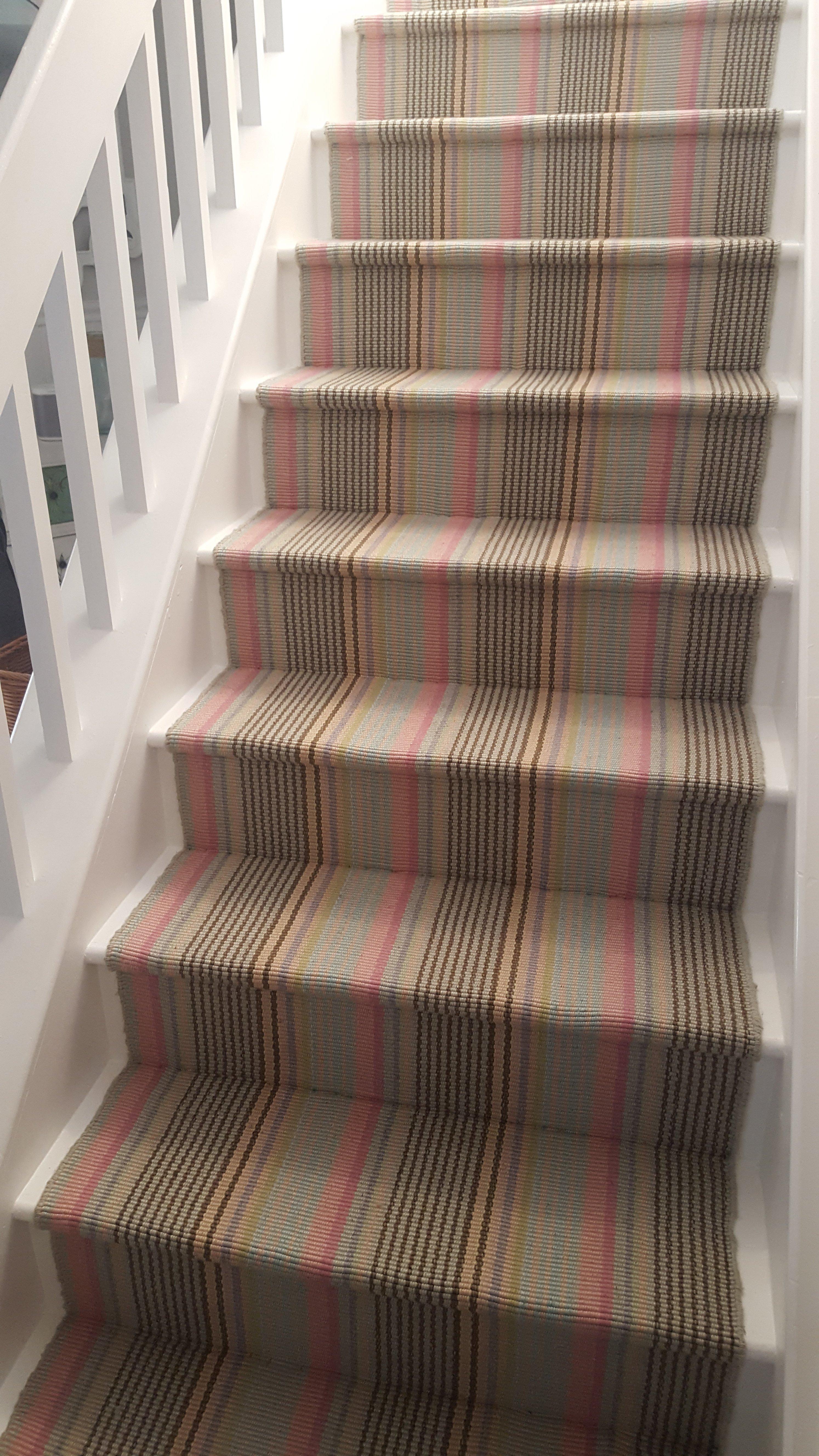 Installed Carpet Runners On Stairs In Sea Isle City NJ   Carpet Repair By  Ken