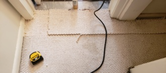 Repaired Berber Carpeting Pulls in Margate NJ!